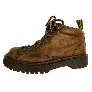 Dr. Martens England Brown Leather Boots Docs